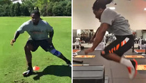 NFL's Vontaze Burfict -- Battle Testing Repaired Knee ... After Major Surgery