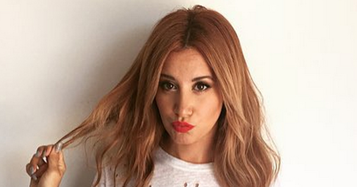 Ashley Tisdale a adopt avec succs le blond fraise