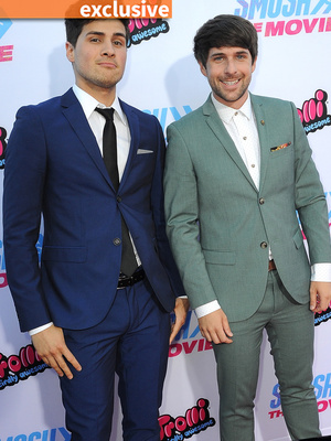 "Ian Hecox & Anthony Padilla Reveal Why They Were So Nervous to Make ""Smosh: The Movie"""