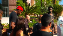 DeAndre Jordan -- Taunted at Vegas Pool ... with Kevin Durant