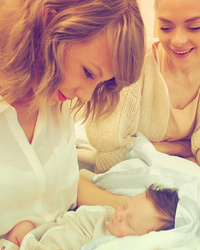 Move Over, Calvin Harris -- A New (Little) Man Has Stolen Taylor's Heart