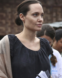 Pax Joins Angelina Jolie on Humanitarian Tour of Myanmar -- He's So Grown Up Now!
