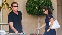 Arnold Schwarzenegger -- Maria's Still Very Lunchable