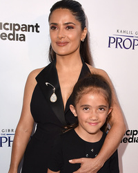 Salma Hayek Hits Red Carpet with Daughter Valentina