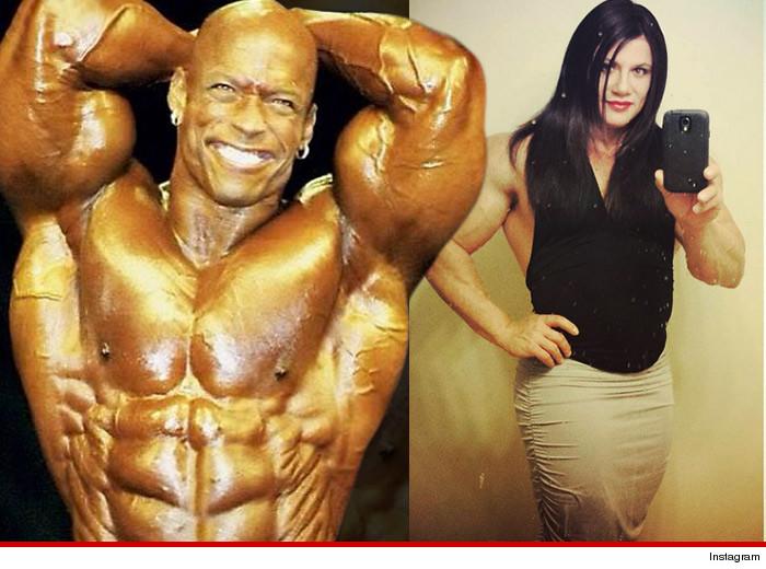 Transgender Bodybuilder -- Huge Support from Muscle
