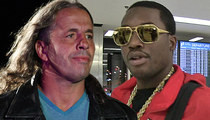 Bret 'The Hitman' Hart -- Trolls Meek Mill Over Diss Track