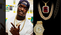 NFL's Melvin Ingram -- BEST COUSIN EVER ... $165K Jewelr