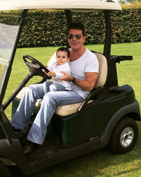 See a New Photo of Simon Cowell's Mini-Me Son Eric -- He's So Big Now!