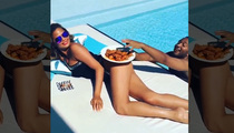 Chrissy Teigen -- My Butt and Some Chicken Wings ... Winning Combo! (VIDEO)