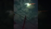 Fire In The Sky ... Huge Meteor Lights Up Argentina