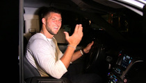 Tim Tebow -- Superfans Bought Me Dinner ... At Mr. Chow! (Video)