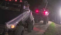Pickup Truck Bends In Half