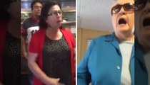 Woman GOES OFF on Racist Rant at I