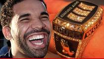 Drake -- Rockin' Icy Championship Ring (PHOTO)