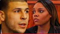 Aaron Hernandez -- Fiancee Changes Her Name ... True Ride Or Die Chick