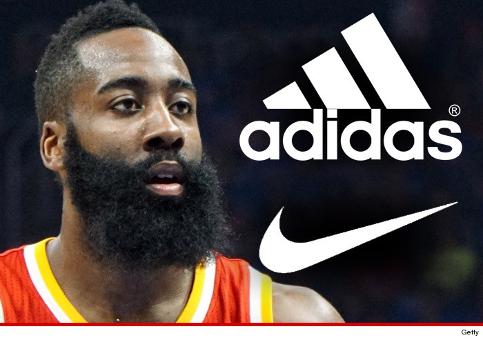 james harden nike no knee jerk reactions to adidas offer. Black Bedroom Furniture Sets. Home Design Ideas