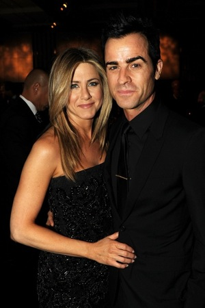 Jennifer Aniston & Justin Theroux -- The Happy Couple