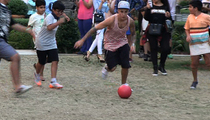 Justin Bieber -- Ballin' Out ... For the Kids (VIDEO)