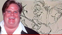 Chris Farley -- Lost 'Shrek' Footage Finally Unearthed (VIDEO)