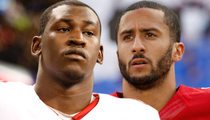 Aldon Smith -- On-Field Fight with Colin Kaepernick