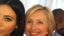 Kim Kardashian -- I Scored the Only Selfie with Hillary Clinton!
