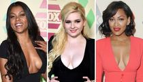 Taraji P. Henson, Abigail Breslin and Meagan Good -- Watch FOX ... We're the Breast Network!