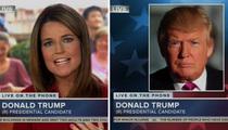 Donald Trump -- Debate Questions Unfair ... I'm Sure We Killed in the Ratings! (VIDEO)