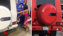 Tyga -- Happy Birthday Kylie ... Hope You Enjoy the G-Wagon as Much as Blac Chyna!