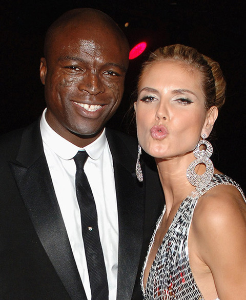 Heidi Klum and Seal marriage happier times divorce split