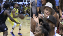 Iggy Azalea -- Gets 'Fancy' After Nick Young Drains a Three (VIDEO)