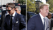 Tom Brady -- Judges Love a Sharp Dressed Man ... Right? (PHOTO)