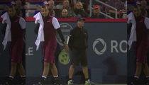 Tennis Player Nick Kyrgios -- 'Banging' Talk Is Gonna Cost Him (VIDEO)