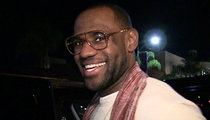 LeBron James -- Michael Jordan's Dreaming ... I'd Take Him, Even in His Prime