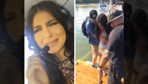 Kylie Jenner -- Flying High to 18th Birthday Bash