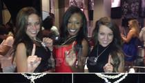 Patriots Cheerleaders -- Flash New Super Bowl Bling ... Boobs Adjacent (PHOTOS)