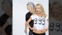 Heidi Klum -- Not a 10? I'll Show You, Donald Trump ... (VIDEO)