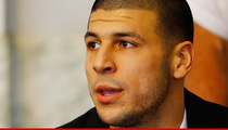 Aaron Hernandez -- Judge's Order Gives Him Hope For a New Trial