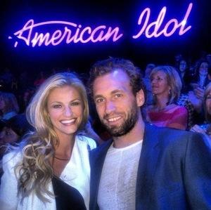 Erin Andrews & Jarrett Stoll -- The Happy Couple