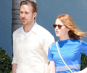 "Emma Stone and Ryan Gosling Reunite in ""La La Land"" -- See Pics From the Set!"