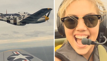 Kate Upton -- Top Gun Entrance into Chi-Town (VIDEO)