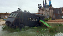 Welcome To Dismaland -- See Inside Banksy's Bizarro-Disneyland