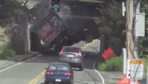 Infamous Bridge Destroys Another Truck
