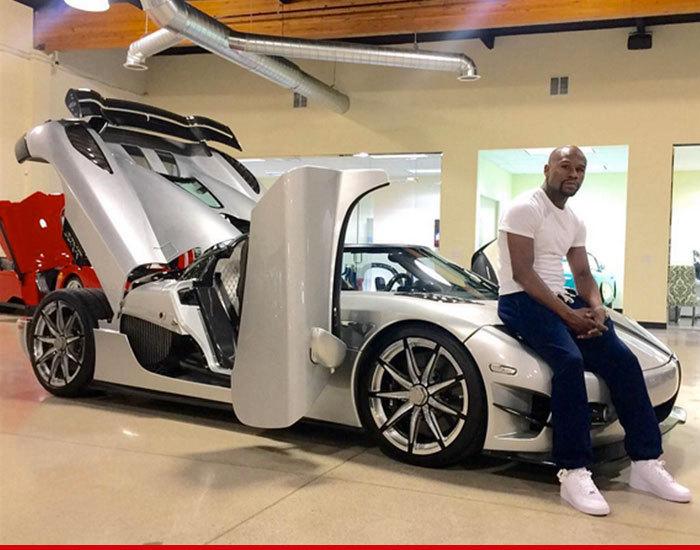 Floyd Mayweather -- I Finally Got My $4.8 Million Hyper Car!   TMZ.com