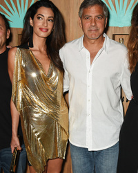 George Clooney Shows PDA with Amal at Casamigos Tequila Launch In Spain