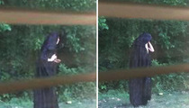 Gastonia, North Carolina -- Mystery Solved ... On Creepy Cloaked Figure