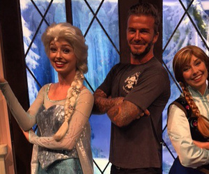 See How David Beckham Got Major Cool Points with Daughter Harper at Disneyland