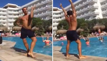 Funny Water Aerobics Instructor -- Doing Beyoncé For All The Single Ladies In The Pool