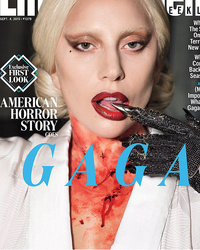 "Lady Gaga Wore WHAT to the ""American Horror Story"" Set on Her First Day?!"
