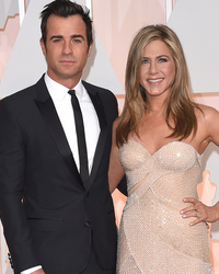 "Justin Theroux on Married Life With Jennifer Aniston: ""It Does Feel Different"""