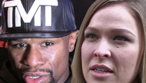 Floyd Mayweather -- Fires Back At Ronda Rousey ... You're Not Forbes Material